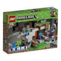 LG21141_001 - LEGO Minecraft Peștera cu zombi (21141)