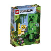 LG21156_001w LEGO® Minecraft™ - Creeper BigFig si Ocelot (21156)