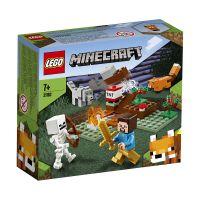 LG21162_001w LEGO® Minecraft™ - Aventura din Taiga (21162)