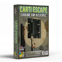LG3007_001w Joc de societate dV Giochi, Carti Escape, Evadarea din Alcatraz