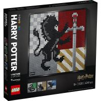 LG31201_001w LEGO® Art - Blazoane Hogwarts Harry Potter (31201)
