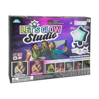 Set de creatie Let's Glow Studio cu stichere fosforescente
