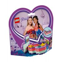 LG41385_001w LEGO® Friends - Cutia de vara in forma de inima a Emmei (41385)