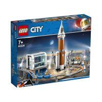 LG60228_001w LEGO® City Space Port - Racheta pentru spatiul indepartat si centrul de comanda (60228)