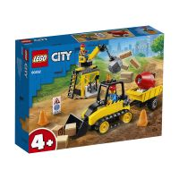 LG60252_001w LEGO® City Great Vehicles - Buldozer pentru constructii (60252)