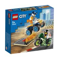 LG60255_001w LEGO® City Great Vehicles - Echipa de cascadorii (60255)