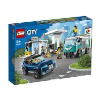 LG60257_001w LEGO® City Great Vehicles - Statie de service (60257)