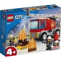 LG60280_001w LEGO® City - Camion de pompieri cu scara (60280)
