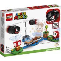 LG71366_001w LEGO® Super Mario - Set de extindere Atacul lui Boomer Bill (71366)