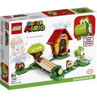 LG71367_001w LEGO® Super Mario - Set de extindere Casa lui Mario si Yoshi (71367)