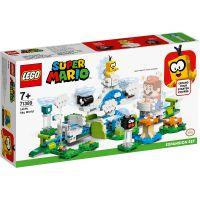 LG71389_001w LEGO® Mario - Set De Extindere Lumea Din Cer A Lui Lakitu (71389)