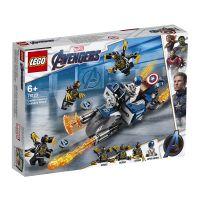 LG76123_001w LEGO® Super Heroes - Captain America Atacul Outriderilor