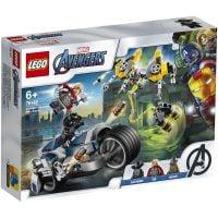 LG76142_001w LEGO® Super Heroes - Atacul Razbunatorilor cu motociclete (76142)