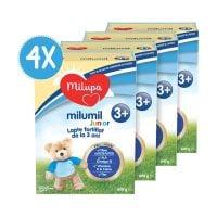 PACK06_001w Lapte praf Milupa Milumil Junior 3+, 4 pachete x 600 g