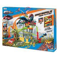 MAIS-12398_001w Set de joaca Parcare supraetajata cu 5 nivele Maisto Dinotropolis