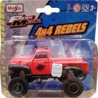 MAIS-25205_2018_102w Masinuta Maisto Fresh Metal, 4X4 Rebels, 11 cm, 164, Rosu