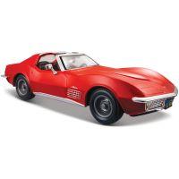 MAIS-31202_2018_001w Masinuta Maisto Chevrolet Corvette 1970, 1:24, Rosu