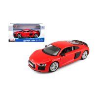 MAIS-31513_2018_001w Masinuta Maisto Audi R8 V10 Plus, 124, Rosu