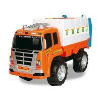 Masina de gunoi utilitara Cool Machines, Portocaliu INT0502