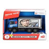 Masinuta de constructie Dickie Toys Scania City Team Transportor