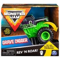 Masinuta Monster Jam Grave Digger Rev N Roar 20103737
