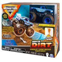 Masinuta Monster Jam Monster Dirt Blue Thunder 20103742