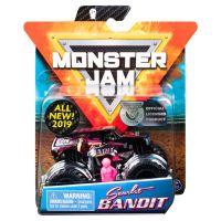 Masinuta Monster Jam Scarlet Bandit cu figurina, Roz 20105557