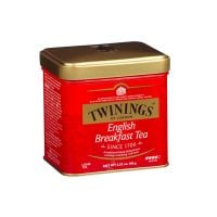 MATW1_001w Ceai negru English Breakfast Twinings, Cutie metal, 100 g