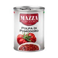 MAZ87_001w Pulpa rosii Mazza, 400 g