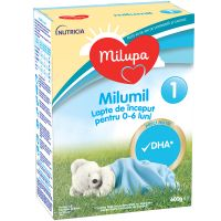 Lapte praf de inceput Milupa Milumil 1, 600g 580146