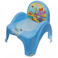 Mini toaleta Tega-Baby Safari, Albastru SF-010-126