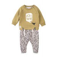 35110095 Set bluza cu maneca lunga si pantaloni Minoti Baby. Mite, Roooaar