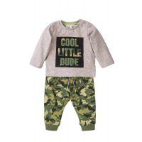 35110098 Set tricou cu maneca lunga si pantaloni Minoti Baby, Mite, Cool Dude