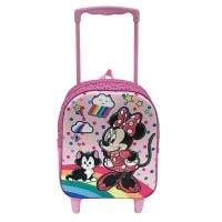 MNM50301_001w Ghiozdan tip troler Disney Minnie Mouse
