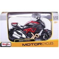 Motocicleta Maisto, Ducati Diavel Carbon, 112