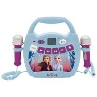 MP300FZZ_001w Primul meu Karaoke portabil cu 2 microfoane Disney Frozen 2