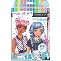 MR3205_001w Caietul designerului, Make It Real - Pastel Pop