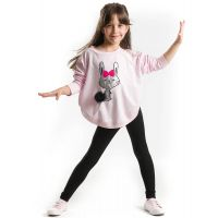 20204184 Set bluza si colanti Pompom Bunny Mushi