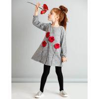 20204214 Rochie cu maneca lunga Poppy Mushi