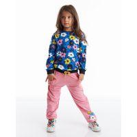 20204252 Set bluza si pantaloni sport cu imprimeu floral  Mushi