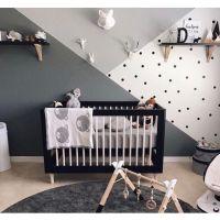 NOR1-1_001 Patut bebe Home Concept, Negru