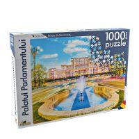 Puzzle Noriel Peisaje din Romania - Palatul Parlamentului (1000 piese)