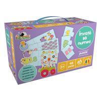 Puzzle Noriel - Invata sa numeri 1