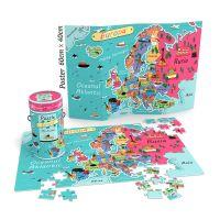 NOR4581_001w Puzzle educativ Noriel - Harta Europei, 150 piese