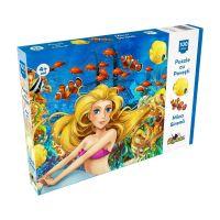 NOR5304_001w Puzzle Noriel cu povesti - Mica Sirena, 100 Piese