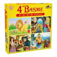NOR5328_001w Puzzle Noriel - 4 basme (12, 24, 42, 56 piese)