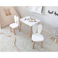 NOR5_001 Masuta pentru copii Home Concept, Alb