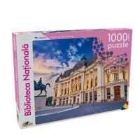 NOR5397_001w Puzzle Noriel - Peisaje din Romania - Biblioteca Nationala, 1000 Piese