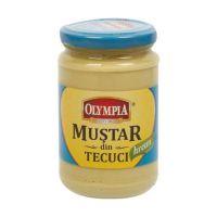 OLY_MUST_314_H_6_001w Mustar cu hrean din Tecuci Olympia, 300 gr