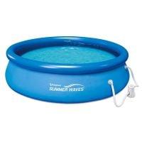 P1001030A0EU_001w Piscina cu inel gonflabil cu pompa de filtrare Summer Waves Quick, 305 x 76 cm
